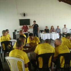 Evento no presídio para menores em Sousa/PB